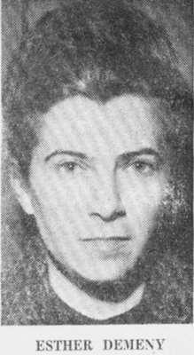 Portrait: Esther Demeny