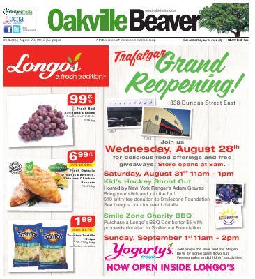 Oakville Beaver, 28 Aug 2013