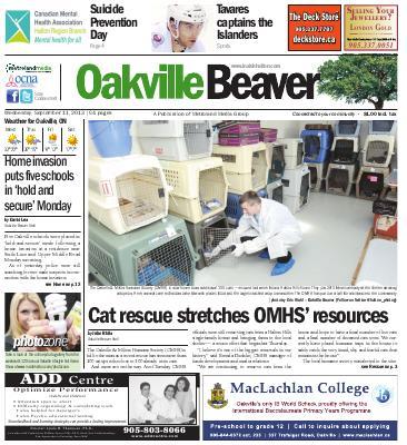 Oakville Beaver, 11 Sep 2013