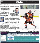 Kellan Lain's unfortunate NHL debut, and some happier Oakville hockey stories: Steve Mason extends contract with Flyers; Greg Westlake to captain Canada in Sochi