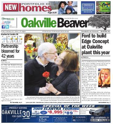 Oakville Beaver, 14 Feb 2014