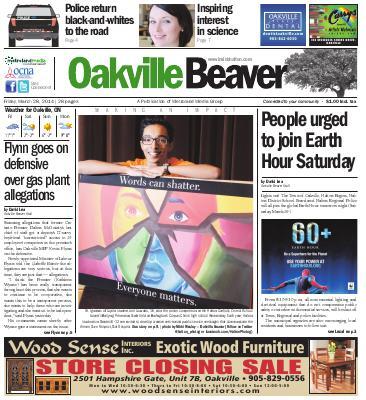 Oakville Beaver, 28 Mar 2014