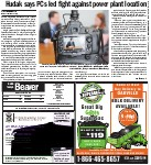 Hudak says PCs led fight against power plant location
