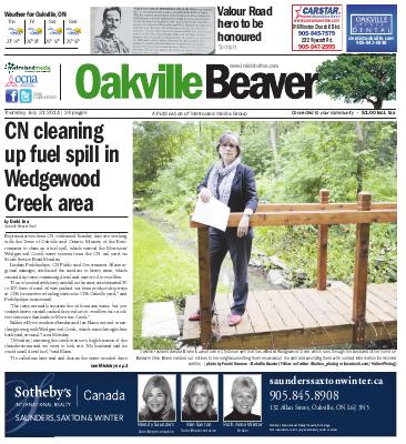 Oakville Beaver, 31 Jul 2014
