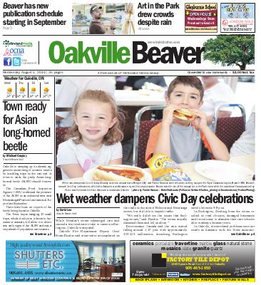 Oakville Beaver, 6 Aug 2014