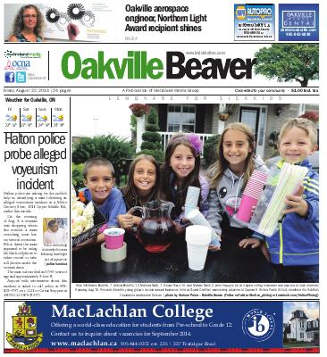 Oakville Beaver, 22 Aug 2014