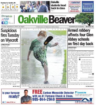 Oakville Beaver, 4 Sep 2014