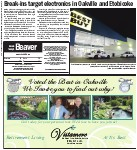 Break-ins target electronics in Oakville and Etobicoke