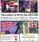 Police called in for GO bus rider with a knife