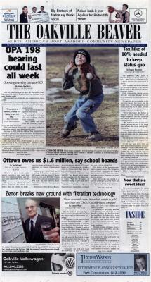 Oakville Beaver, 27 Feb 2002