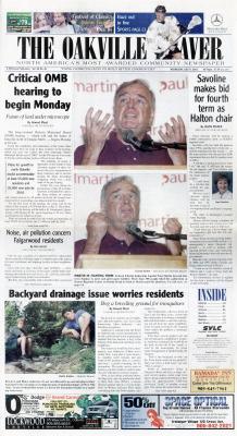 Oakville Beaver, 9 Jul 2003