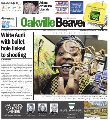 Oakville Beaver, 12 Feb 2015