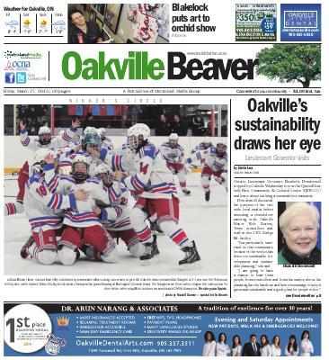 Oakville Beaver, 27 Mar 2015