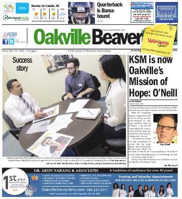 Oakville Beaver, 24 Apr 2015