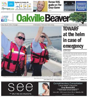 Oakville Beaver, 15 May 2015