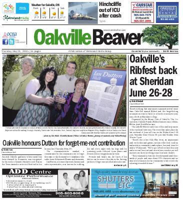 Oakville Beaver, 21 May 2015