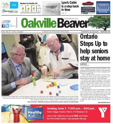 Oakville Beaver, 22 May 2015