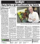 Rusty Baillie a 'gentle ambassador' for Oakville