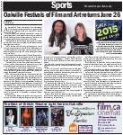 Oakville Festivals of Film and Art returns June 26