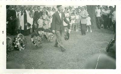 Cliff Reed (Legion President 1956-1957), July 1956
