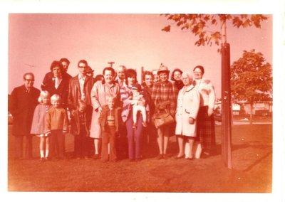 Oak tree planting at Maple Valley Park in memory of Richard Eldon Perkins