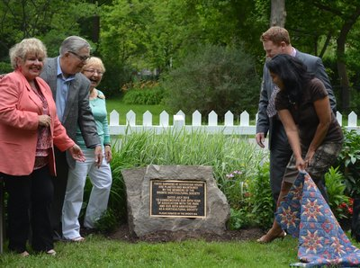Bronte Horticultural Society 90th Anniversary plaque unveiling
