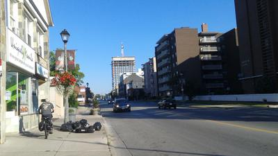 Changing Streetscape of Kerr St. AM