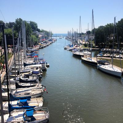 A beautiful day at Oakville Harbour