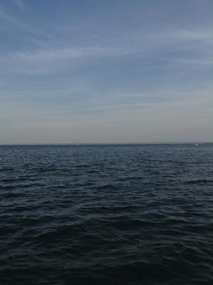 Lake Ontario from Bronte Harbour in Oakville