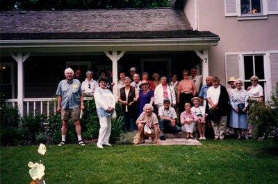 Bronte Horticultural Society Summer Garden Tour & Barbecue (June 17, 2000)