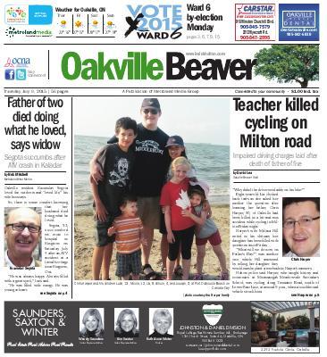 Oakville Beaver, 9 Jul 2015