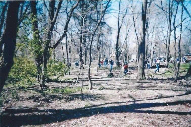 Bronte Bluffs tree planting