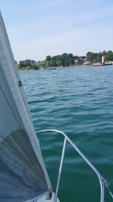 Sailor's View of Oakville Harbour