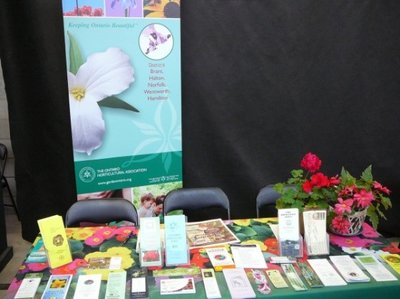 Ontario Horticultural Association booth