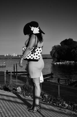 """Lady with Polka Dots"""