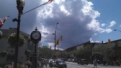 Downtown Oakville After Storm