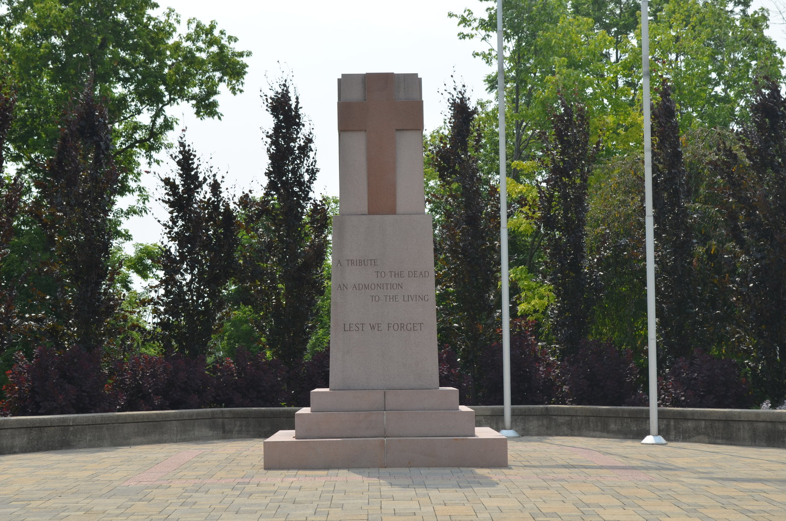 Cenotaph at Chris Vokes Memorial Park