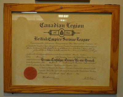 Bronte Legion Founding Charter