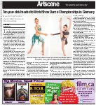 Ten-year-olds headed to World Show Dance Championships in Germany: Maija Smith and Yasmina Granc 'excited' to dance on international stage
