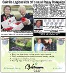 Oakville Legions kick off annual Poppy Campaign