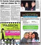 St. Dominic School salutes local war veterans Nov. 11