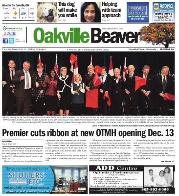 Oakville Beaver, 19 Nov 2015