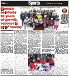 Hornets celebrate 20 years of growth, success in girls' hockey