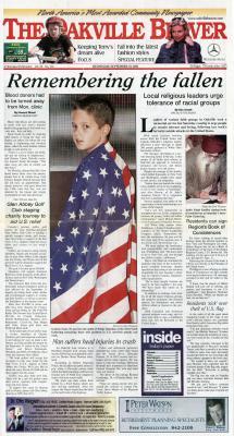 Oakville Beaver, 19 Sep 2001