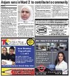 Anjum runs in Ward 2 to contribute to community
