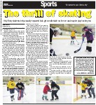 The thrill of skating: Holy Trinity students help visually-impaired kids get comfortable on the ice and maybe play hockey too
