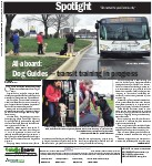 All-aboard: Dog Guides -- transit training in progress