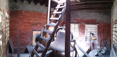 Inside Walton Bell Tower