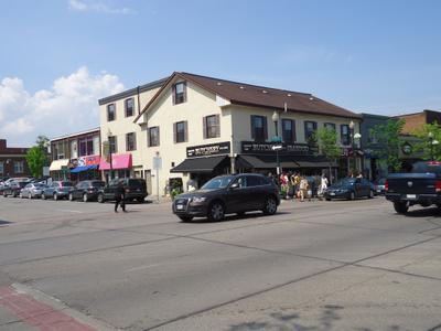 Thomas St at Lakeshore Rd.