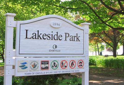 Lakeside Park Signage